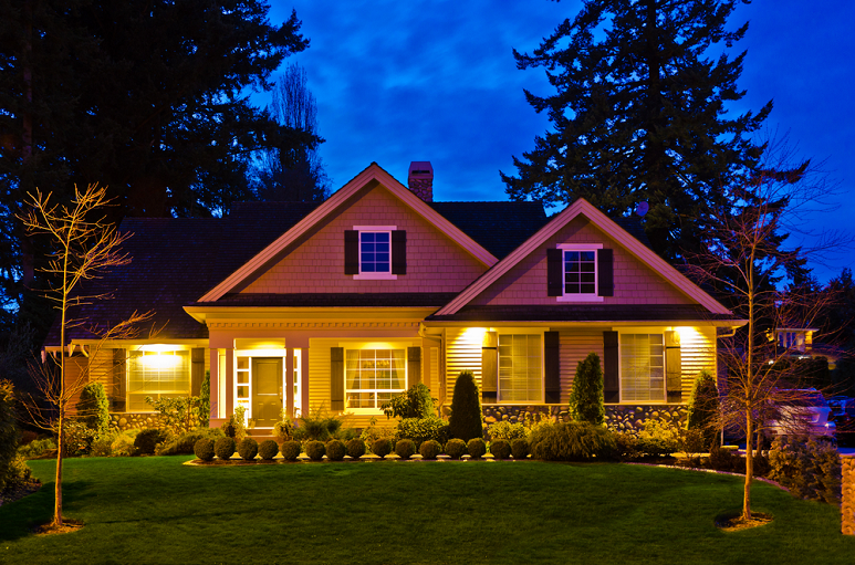 lighting-idea-for-home-exterior